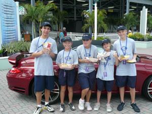 Delray ITC Ball Boys